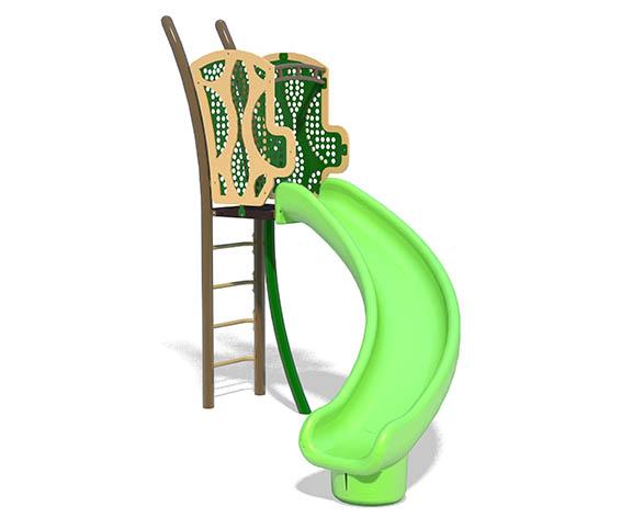 freestanding 5ft Twister Slide