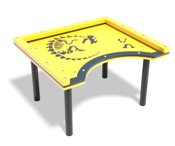 skeleton accessible sand table | Henderson Recreation