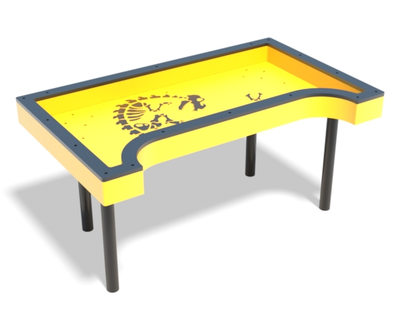 wheelchair skeleton accessible sand table | Henderson Recreation