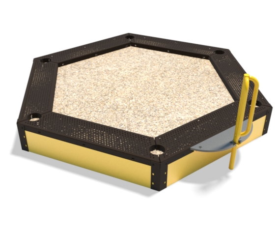 large sandbox for children | Henderson Recreation