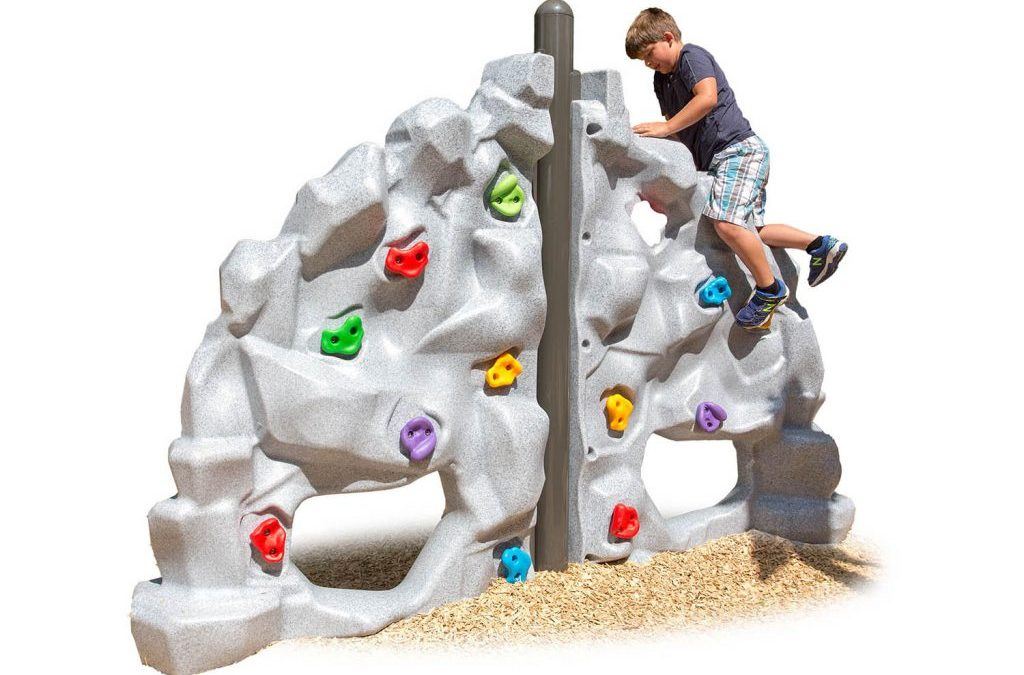 Keeping kids close to nature with rock climbing play structure- Henderson Recreation