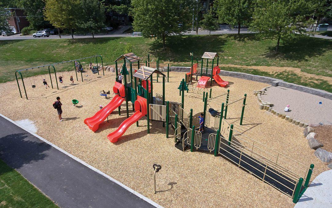 Natural Theme Playground