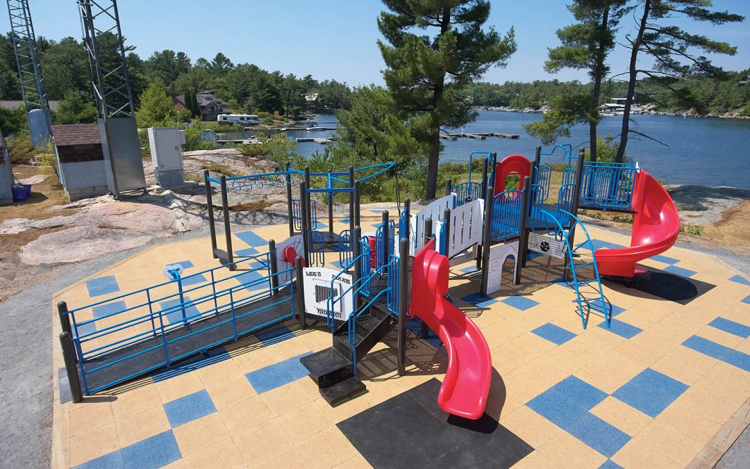 Wheelchair Accessible Playground
