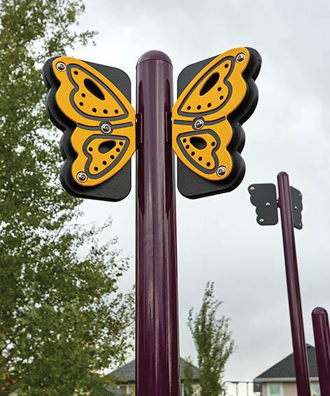 Butterfly Post Topper