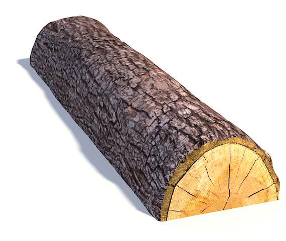 Split Log Beam